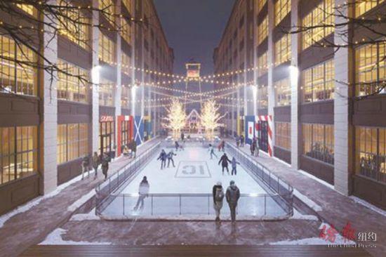 日落公园工业城的室外溜冰场已正式对外开放。